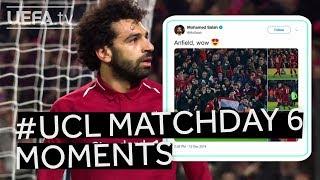 DEMBÉLÉ, SALAH, CSKA MOSKVA: #UCL Matchday Six Moments