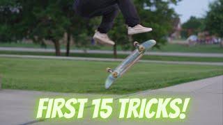 First 15 Tricks on a MINIRAMP