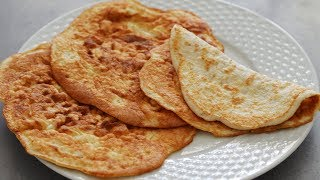 رسپی کتو - نان لواش مخصوص رژیم غذایی کتو (کتوژنیک) بسیار نرم و خوشمزه | Best Keto Flatbread Ever