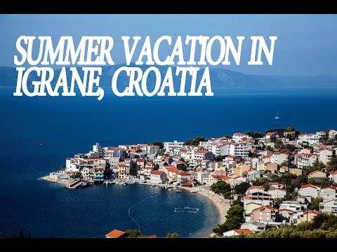 Igrane - Summer Tourism in Croatia