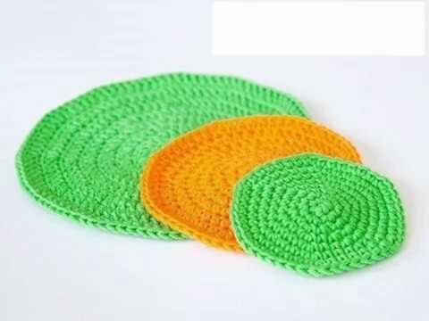 вязание крючкомкруговое вязание правило круга схемы вязания круга