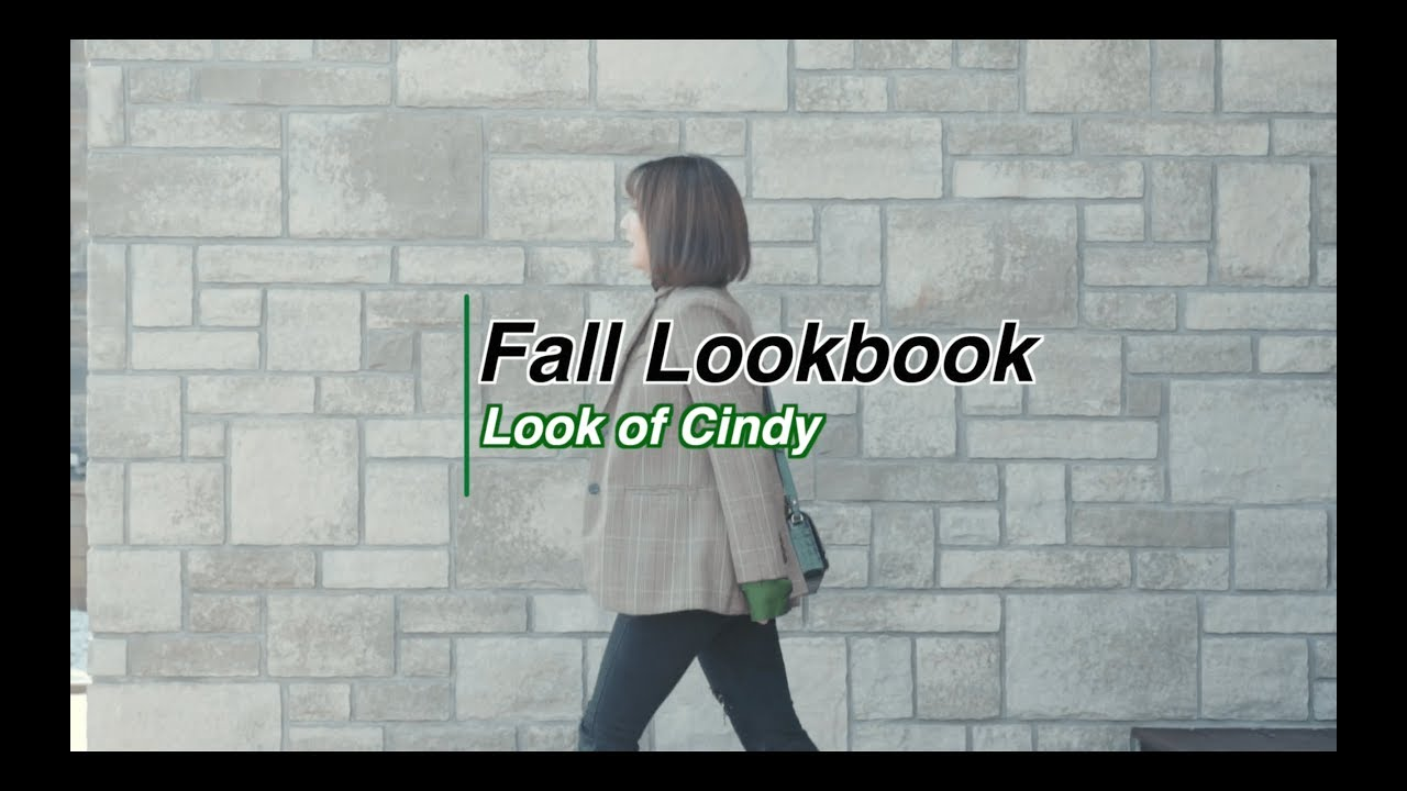 [VIDEO] - 2019 Fall Lookbook   秋季穿搭分享   Fall Outfit Ideas   Look of Cindy 6