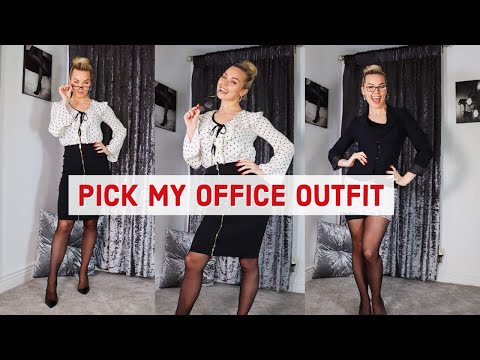 OFFICE OUTFITS!