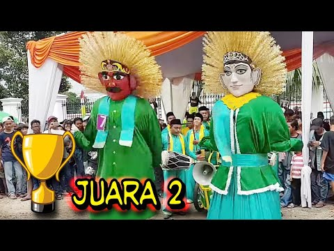 Ondel ondel JUARA 2 ☆Sanggar BINTANG SILIBET☆ Festival Gerbang Betawi.
