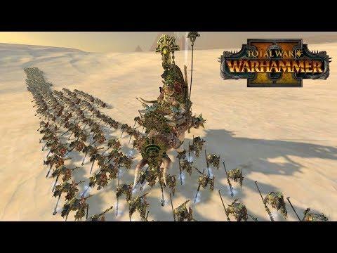 Total War: Warhammer 2 Battle - Lizardmen vs Tomb Kings - Rippin' and Roarin' |
