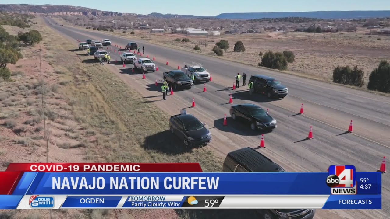 Navajo Nation issues state's first curfew in San Juan County to help reduce spread of COVID-19