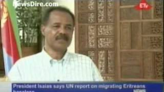 P Isaias says Eritrea number one democratic country in Africa