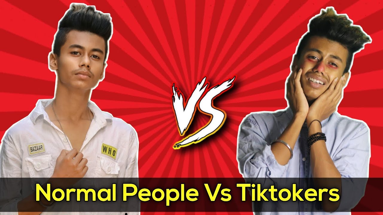 Normal People Vs Tiktokers | Deb Vlogs | Hindi
