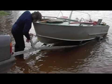 устройства для вытаскивания лодок из воды