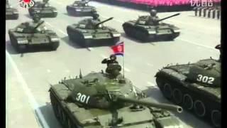 Военный парад в КНДР в честь 100-летия со дня рождения основателя страны — Ким Ир Сена