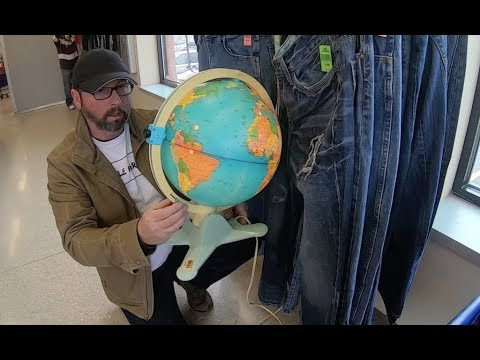 Long Thrifting Video And Some Ebay Tips