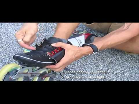 How to avoid foot pain while skating - inline skate tips