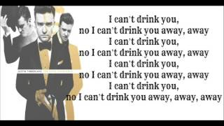 Justin Timberlake - Drink You Away - ( The 20/20 Experience 2 of 2 ) Lyrics On Screen