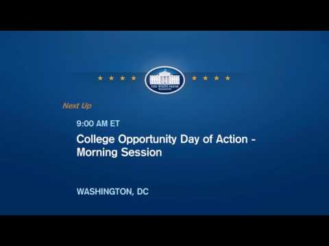 College Opportunity Day of Action (Full Event Video)