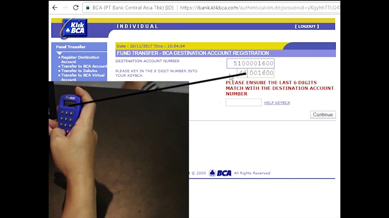 cara deposito bitcoin lewat klik bca)