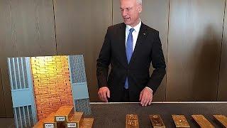 Германия досрочно завершает план возврата золотого запаса - economy