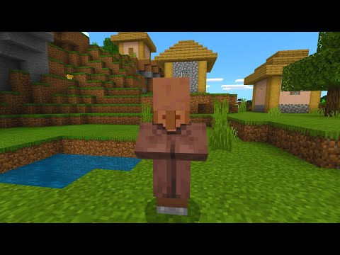 Just hope you don't find the Faceless Villager in Minecraft..