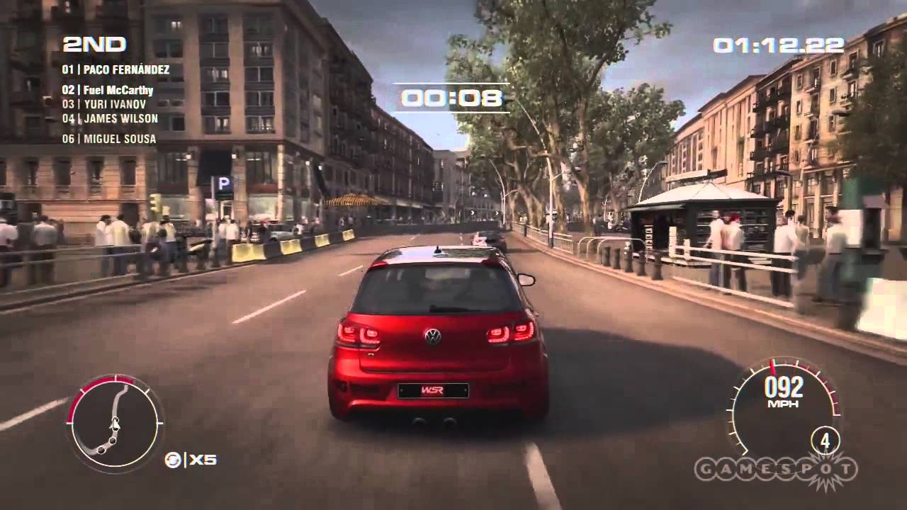 GRID 2 Picture: Elimination And Touge Races Gameplay (Xbox 360