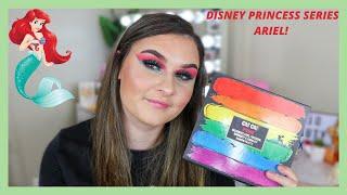 ARIEL INSPIRED MAKEUP! Disney Princess Series! SoJo Beauty