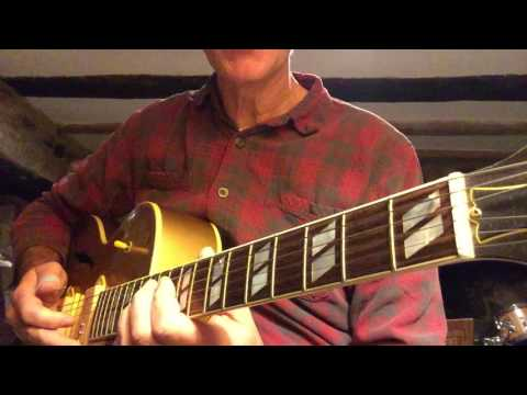 How to Play the Scotty Moore guitar solo to Elvis' Too Much