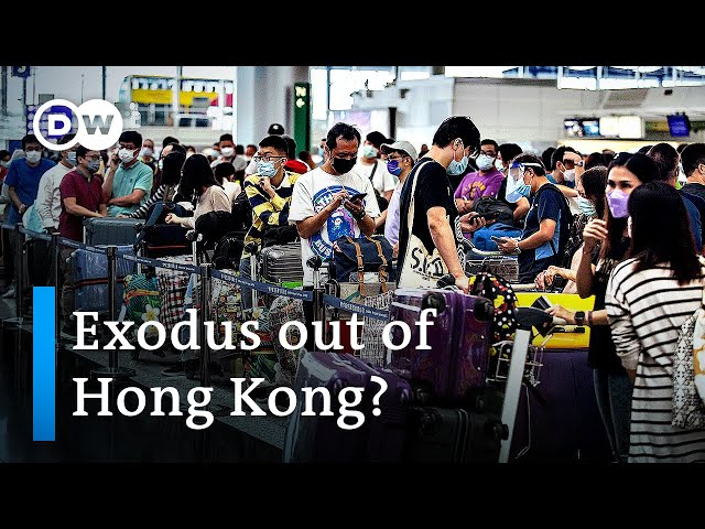 Could Hong Kong's new immigration law ban residents from leaving? | DW News