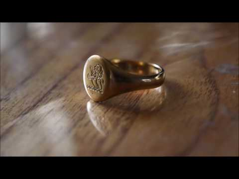 In Focus Friday - Episode 11 - Gold Signet Ring (80 years ol
