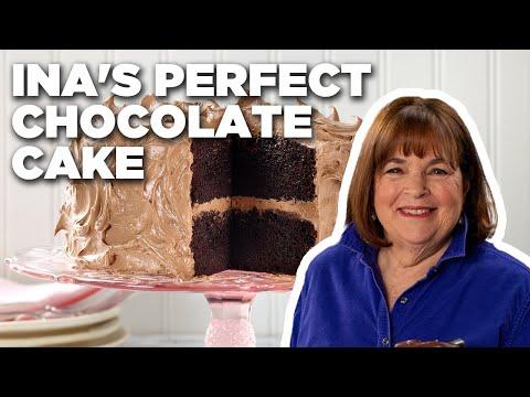 Ina Garten Makes Perfect Chocolate Cake | Barefoot Contessa | Food Network