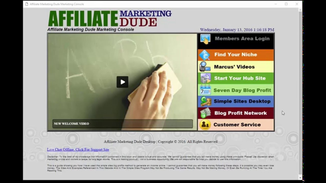 Landing Page Dude Affiliate Marketing Software - YouTube