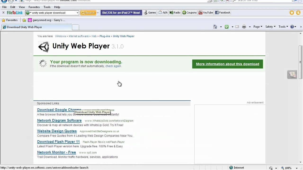 Unity Webplayer