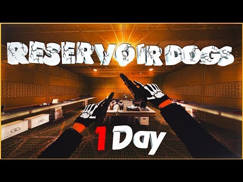 RESERVOIR DOGS HEIST - 1 Day | PAYDAY 2 One Down SOLO [Team AI - ON] Part 2