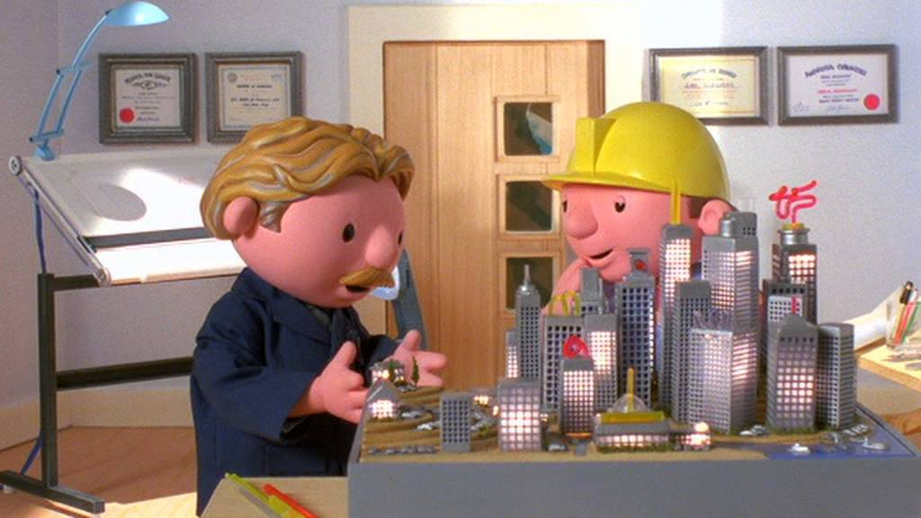 Builder adult bob the