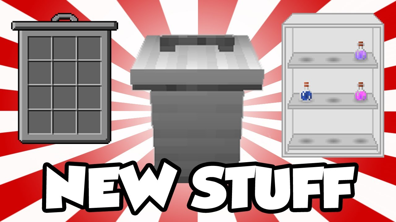 Mrcrayfish 39 S Furniture Mod Update 21 Sitting Fixed Bin