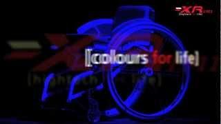 Meyra XR Manual Stylish Wheelchair Rigid Design But Folds. HMS Mobility 01458 851591