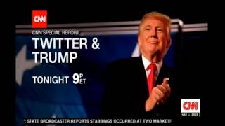 Trump the first Twitter President preview on CNN tonight