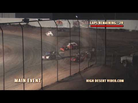 Another Legend Flips at El Paso Speedway Park