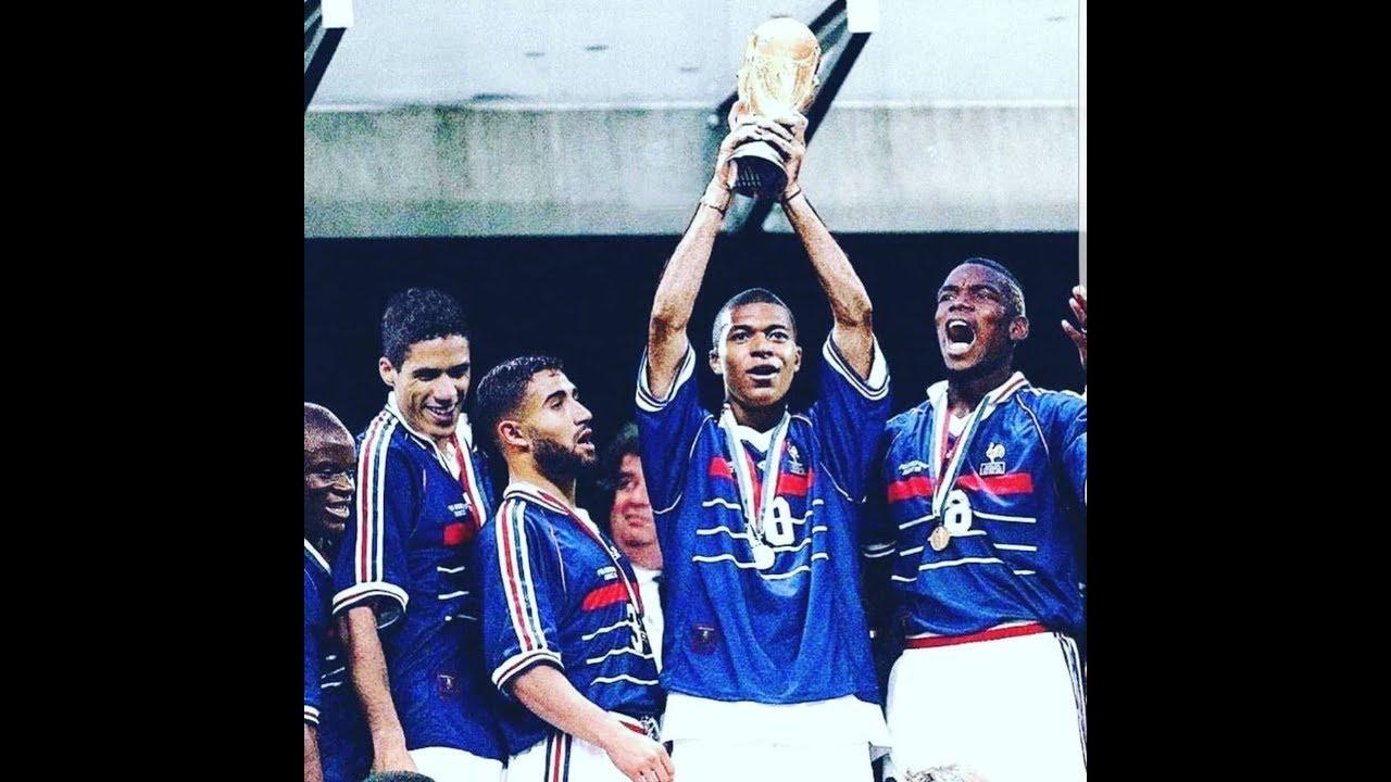 Musique officielle de la coupe du monde france 2018 allez les bleus by romy angelo - Musique de coupe du monde ...