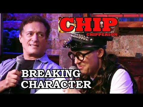 Chip Breaking Character 025 - 1 Million Downloads, 10 Billion Laffs (Ricky Gervais, The Rock)