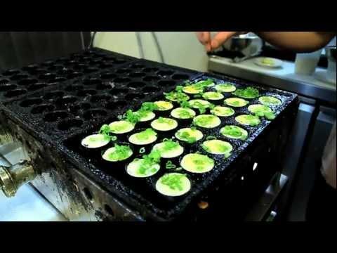 automatic takoyaki making machine
