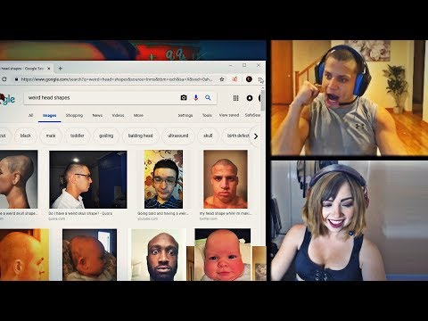 "WHEN TYLER1 GOOGLES ""WEIRD HEAD SHAPES"" 