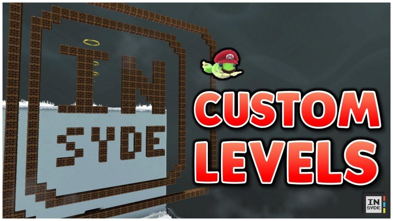 LEVEL CREATING?! - Super Mario Odyssey Hacking