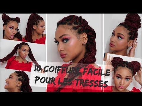 10 coiffure facile a faire avec des tresses!!!