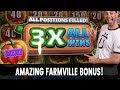 ☘️ 3X ALL WINS - Amazing FarmVille BONUS! + Mighty Cash 💵 Louisiana Action
