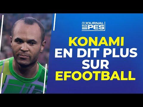eFootball/PES 2022 : Konami Japon en dit plus sur eFootball (Match Pass, Building team...)