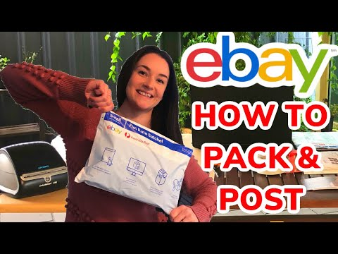 How We Pack & Post Shipping With Australia Post My Post Business eBay Australia