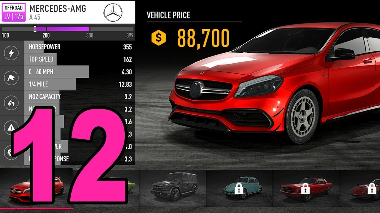 Mercedes Gtr Amg >> Need for Speed: Payback - Part 12 - Mercedes A45 AMG - YouTube