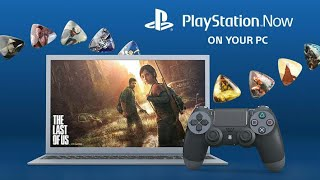 Play Playstation games on windows, Playstation Now Explained in hindi