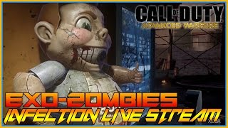 Call Of Duty - Exo Zombies INFECTION MORE ZOMBIE MADNESS - LIVE STREAM