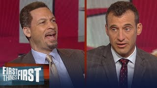 Chris Broussard and Doug Gottlieb predict the Houston Rocket's season | NBA | FIRST THINGS FIRST