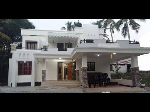 Small Modern Double Floor House 1500 Sft For 15 Lakh Elevation Interior Design