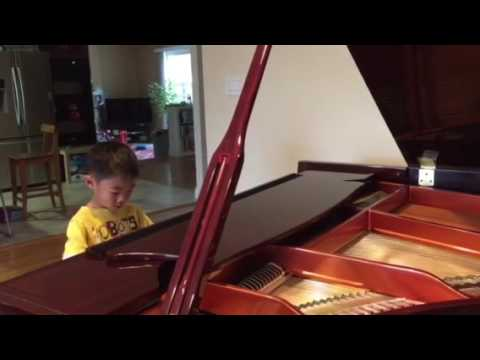Snake Dance piano played by Max